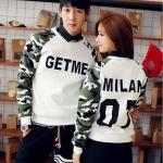 เสื้อกันหนาวคู่รัก GETME MILAN 07
