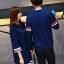 เสื้อแขนยาวคู่รัก ชายเสื้อแขนยาว+เดรสหญิงแขนสามส่วนปรายแขนฟรุ้งฟริ้งเก๋ๆ ผ้านิ่ม thumbnail 3