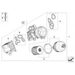 ชุดโอริงฐานกรองน้ำมันเครื่อง (#6) R56-R59, R60-R61 / Gasket set, 7557010