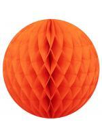 25 cm. โคมรังผึ้ง ส้ม