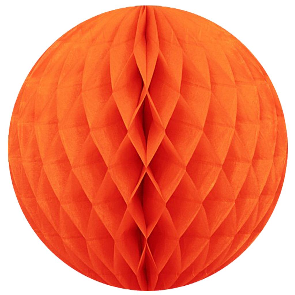 35 cm. โคมรังผึ้ง ส้ม