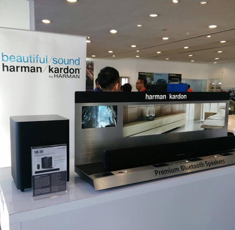 คอหนังฟังเพลงทางนี้หน่อยจ้า ลำโพง Sound bar Harman Kardon SB20 ราคา 14,900 บาท มาพร้อมกำลังขับที่ 300 Watt **สินค้าประกันศูนย์ 1ปี**