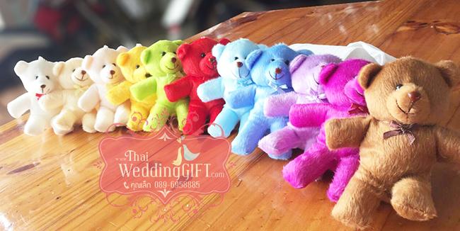 ตุ๊กตาหมีพวงกุญแจ แฮนด์เมด หลายสีหลายแบบ น่ารักๆจ้า