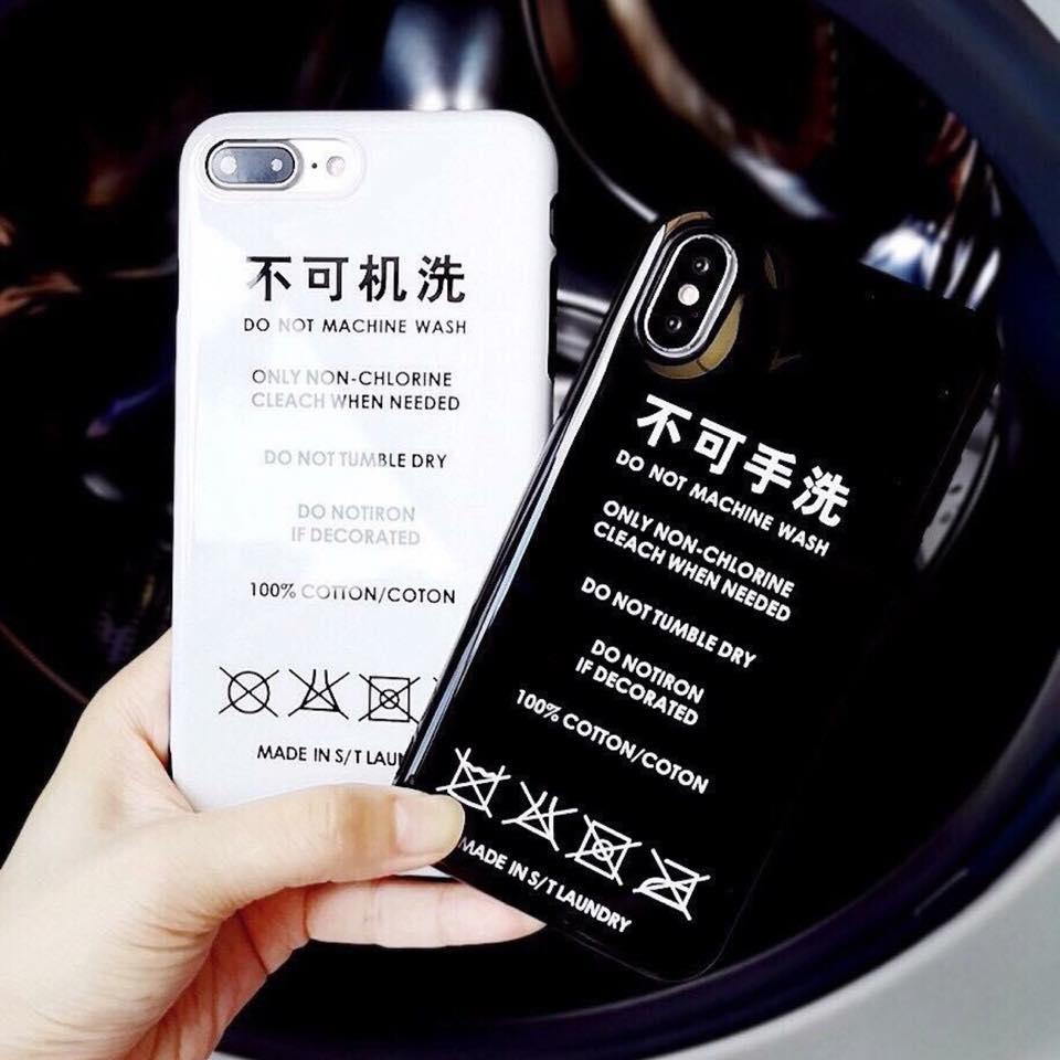เคสนิ่ม Black/White iPhone 7 Plus/ 8 Plus
