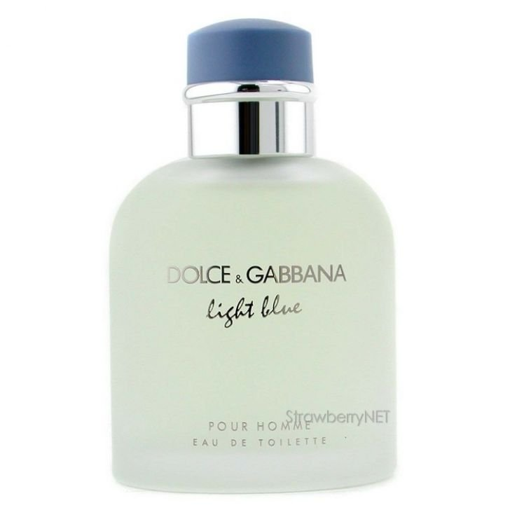 น้ำหอม Dolce & Gabbana Light Blue Pour Homme for Men EDT 125 ml. Nobox.
