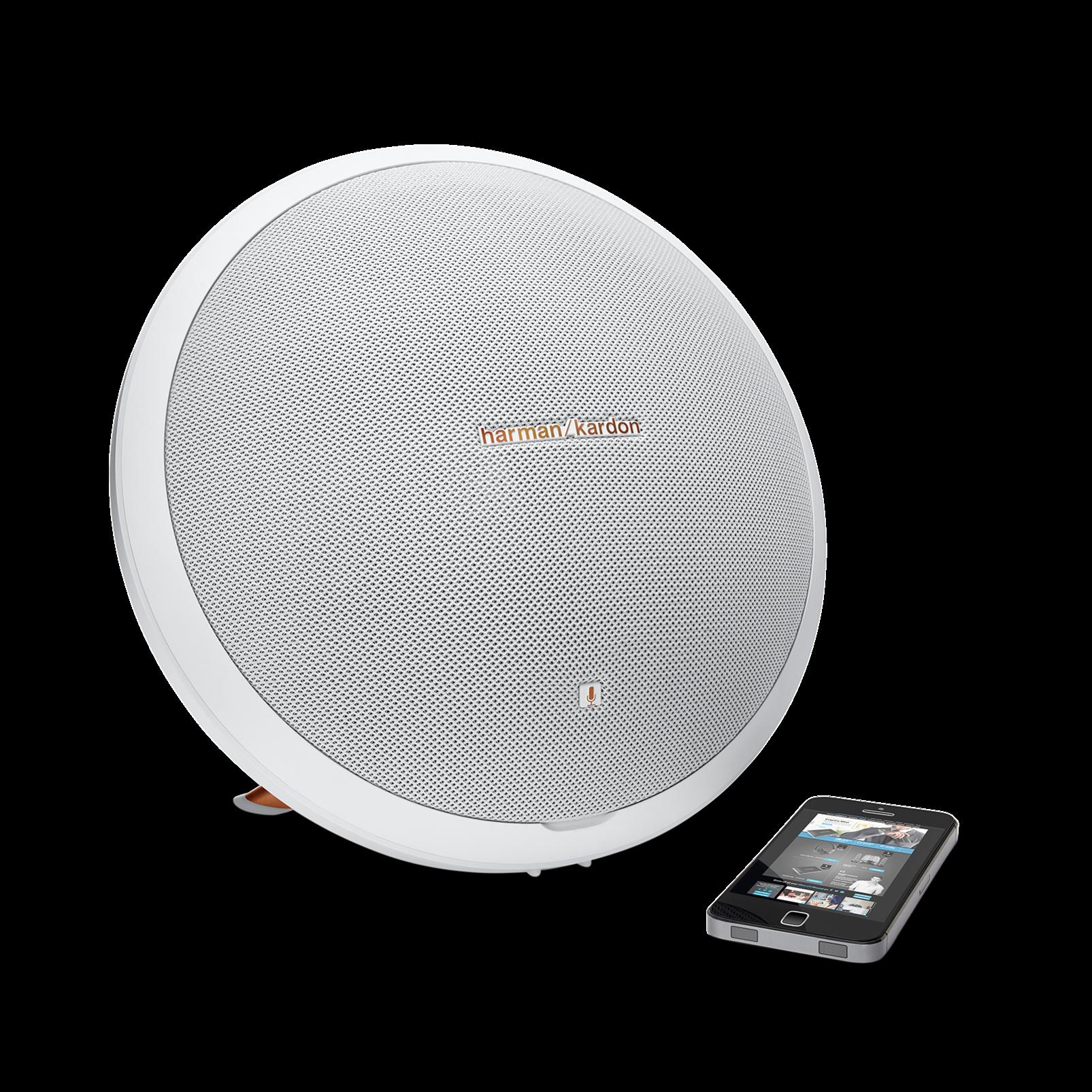 Harman/Kardon Onyx Studio 2 ลำโพงพกพาที่ให้คุณภาพเสียงในระดับ Best-in-class ถ่ายทอดเสียงออกมาได้สะใจถึงอารมณ์ White