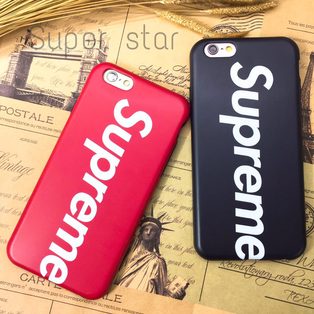 Supreme set E iPhone X