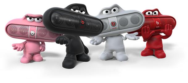เคสตุ๊กตาวางลำโพงบีทพิลแคปซูล Beats Dude Stand for Pill Portable Speaker (RED)ของแท้100%