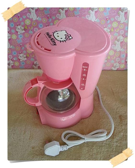 เครื่องชงกาแฟคิตตี่้ Hello Kitty Coffee Maker 1