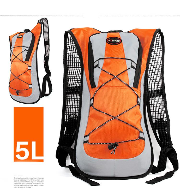V Luggages กระเป๋าแฟชั่นสะพายหลัง 45.5 x 22.5 x 5 cm.VLF-003 ( สีส้ม )