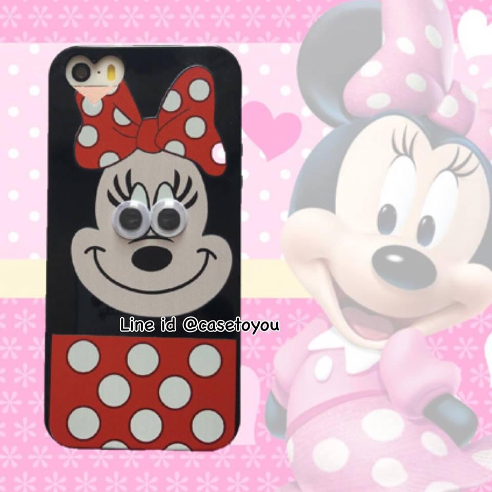 เคสตา กลิ้ง Minnie Mouse iPhone 5/5S/SE
