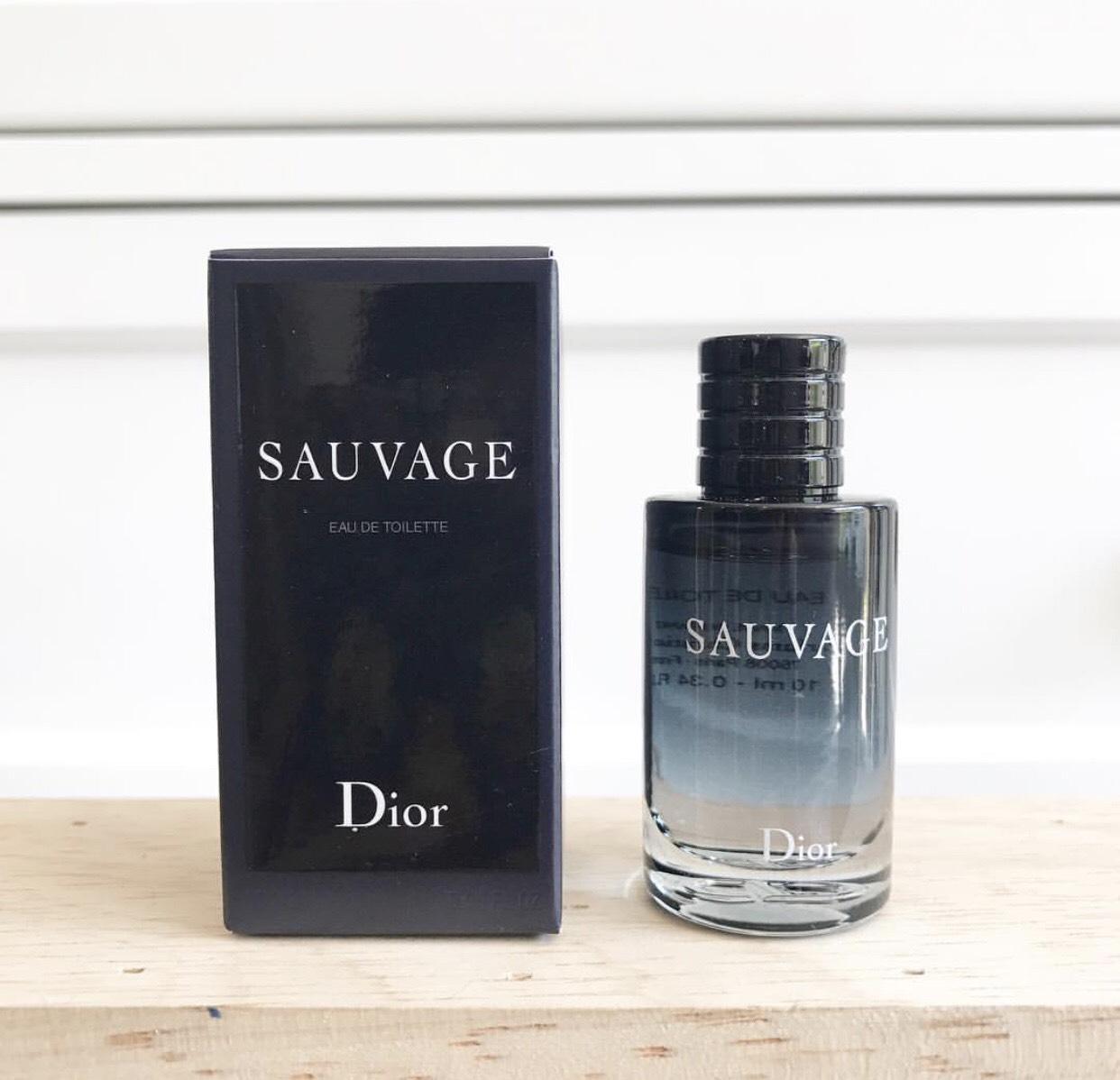 น้ำหอม Dior Sauvage EDT 10ml. ของแท้