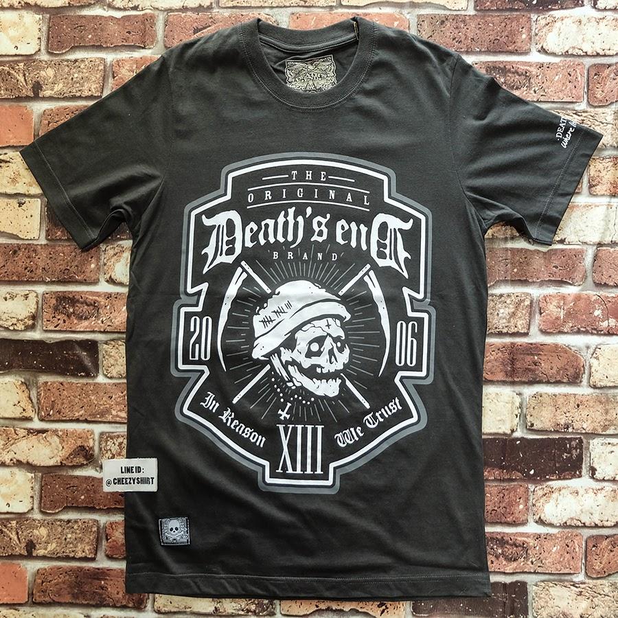 เสื้อยืดแฟชั่น Death's end soldier