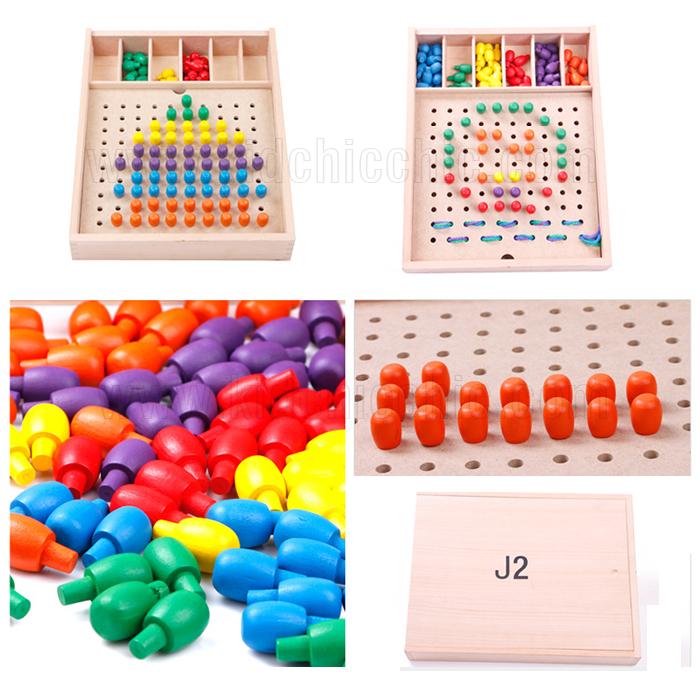 กระดานปักหมุด,กระดานร้อยเชือก, pegboard puzzle,บอร์ดปักหมุด,ของเล่นพัฒนากล้ามเนื้อมือสัมพันธ์กับสายตา
