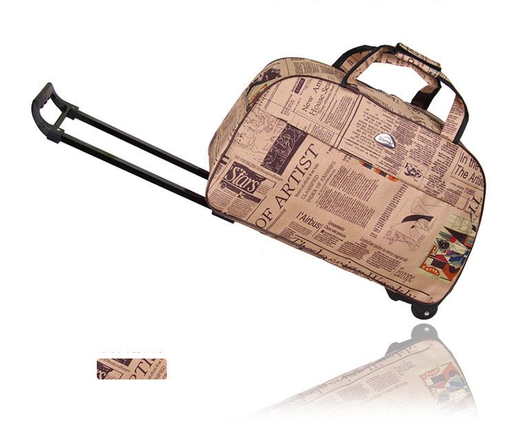 "Semor กระเป๋าเดินทาง 22"" ล้อลาก 2 ล้อ ผ้าโพลีเอสเตอร์ กันน้ำอย่างดี ( รุ่นหนา ) แข็งแรงทนทาน ทันสมัย"