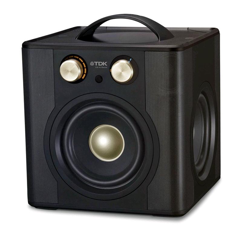 TDK Bluetooth Speaker V513 (Black) พลังเสียงที่รอบทิศทางแบบ 360 องศา