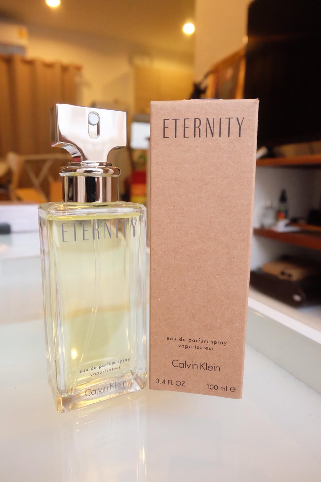 น้ำหอม (กล่องเทสเตอร์) Calvin Klein CK Eternity For Women EDP 100ml. ของแท้ 100%