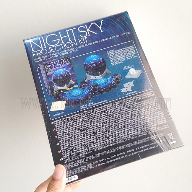 ชุด kit night sky projector,ชุดสื่อการสอนดูดาว,ชุดสื่อการสอนดารารศาสตร์,วิทยาศาสตร์สำหรับเด็ก