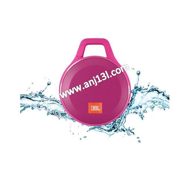 JBL Clip+ Splashproof Speaker ultra-light, ultra-rugged and ultra-powerful (Pink !!)