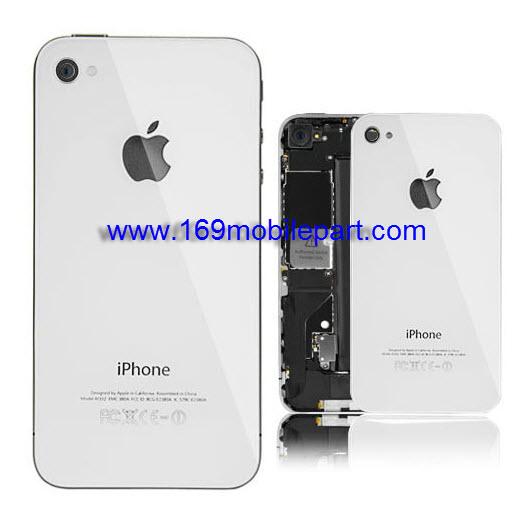 ฝาหลัง iPhone 4S สีขาว งานเกรด A