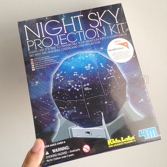 ชุด DIY : Night SKy Projection KIT