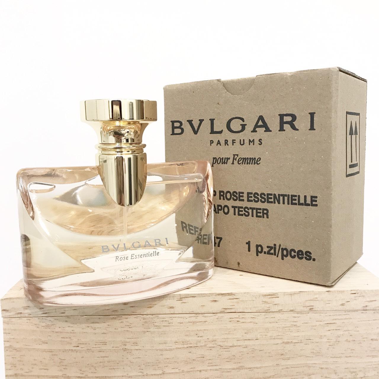 น้ำหอม (กล่องเทสเตอร์) Bvlgari Rose Essentielle EDP 100 ml. ของแท้ 100%