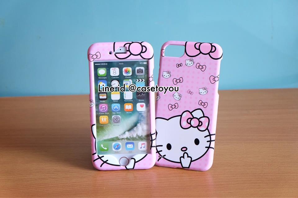 เคสประกบหน้า-หลัง Kitty 02 สำหรับ iPhone 7