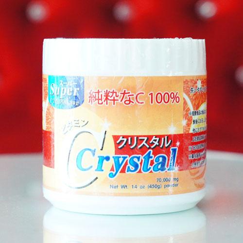 Super C Crystal 70,000 mg ซุปเปอร์ซีคริสตัล วิตามินซีบริสุทธิ์ ขนาด 450g.