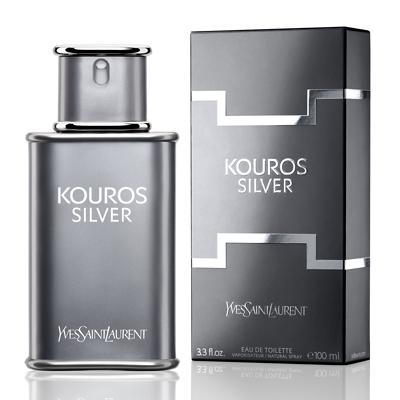 น้ำหอม Yves Saint Laurent Kouros Silver For Men EDT 100 ml. ของแท้ 100%