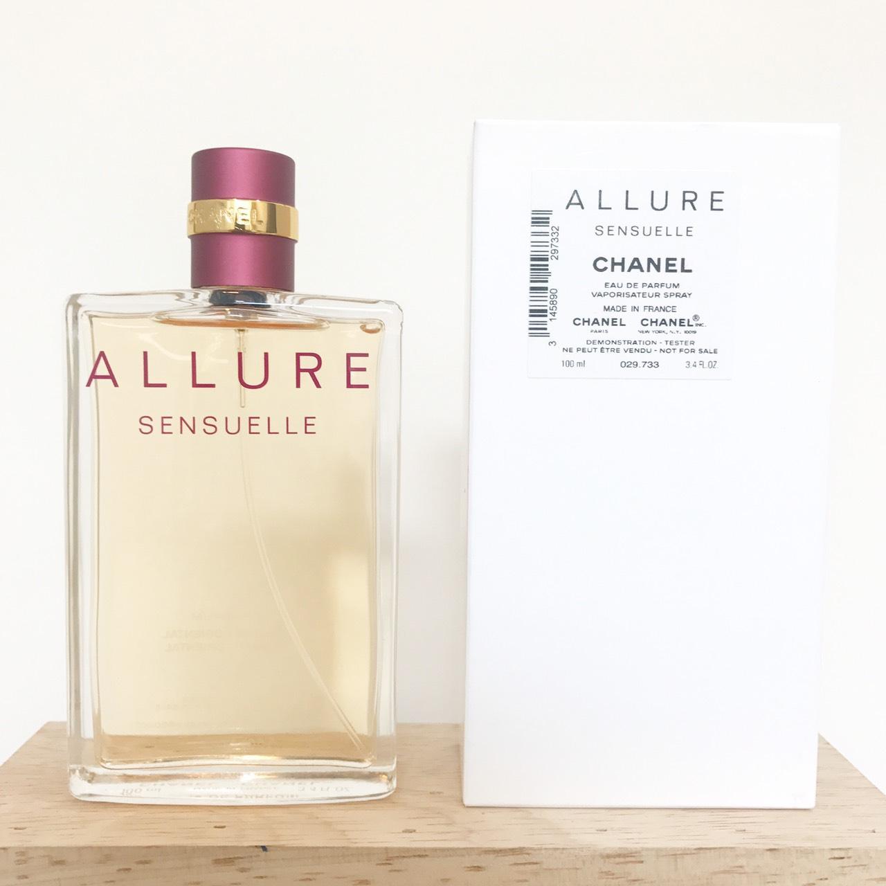 น้ำหอม (กล่องเทสเตอร์) Chanel Allure Sensulle EDP 100ml. ของแท้ 100%