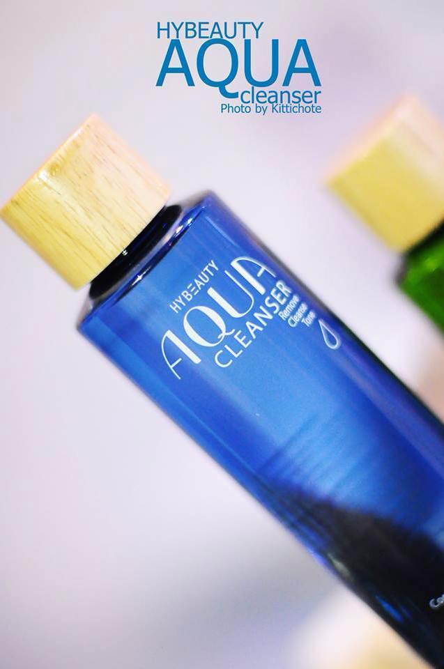 HyBeauty Aqua Cleanser ไฮบิวตี้ อควา คลีนเซอร์ (เช็ดเครื่องสำอาง ผิวมัน ผิวผสมและผิวเป็นสิวง่าย )