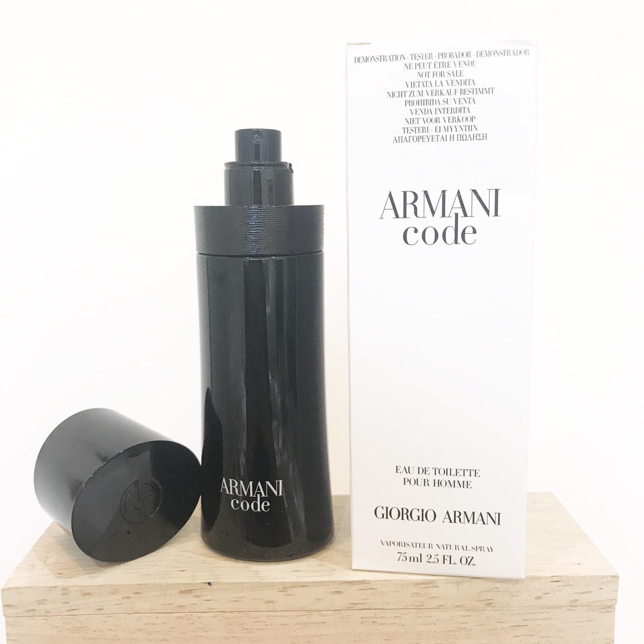 น้ำหอม Giorgio Armani Code EDT Pour Homme 75ml. ของแท้ 100%