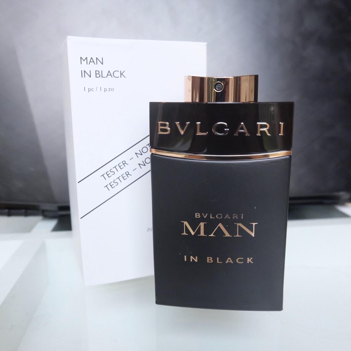 น้ำหอม (กล่องเทสเตอร์) Bvlgari Man In Black 100ml. ของแท้ 100%