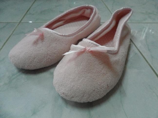 รองเท้า Slipper แบบรองเท้าบัลเล่ต์น่ารักๆ