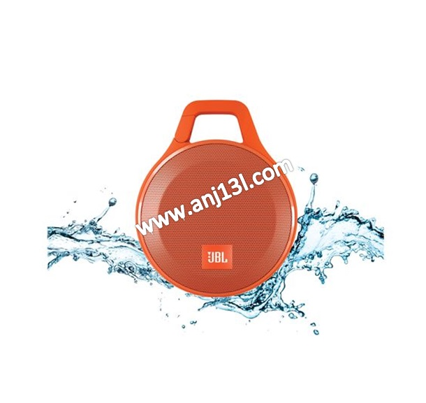 JBL Clip+ Splashproof Speaker ultra-light, ultra-rugged and ultra-powerful (Orange!!)