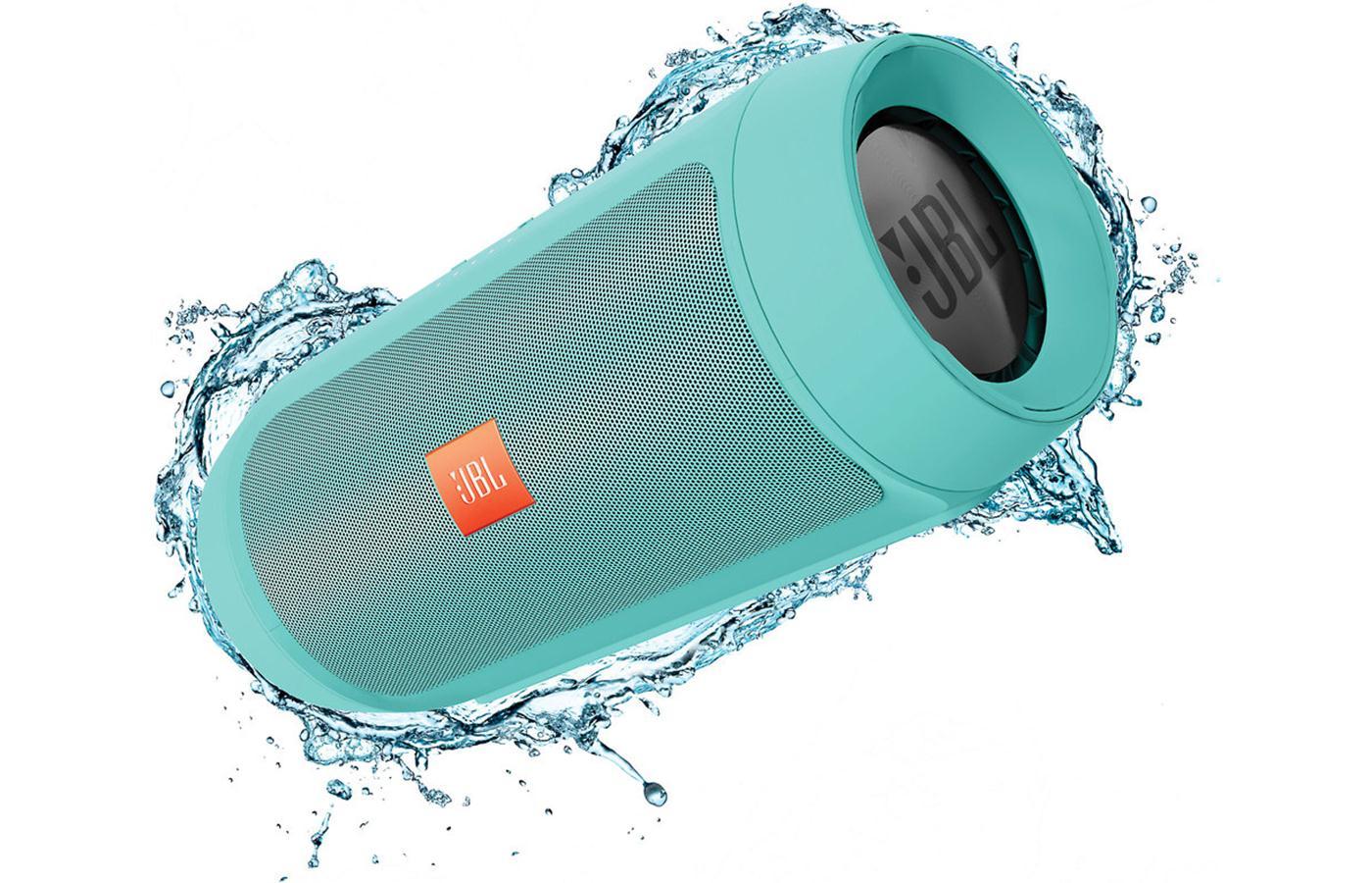 JBL Charge 2+ ลำโพงพกพากันน้ำได้ พลังเสียงเบสอิ่ม แน่น กระหึ่ม (Teal) แถมกระเป๋าฟรี 1 ใบ