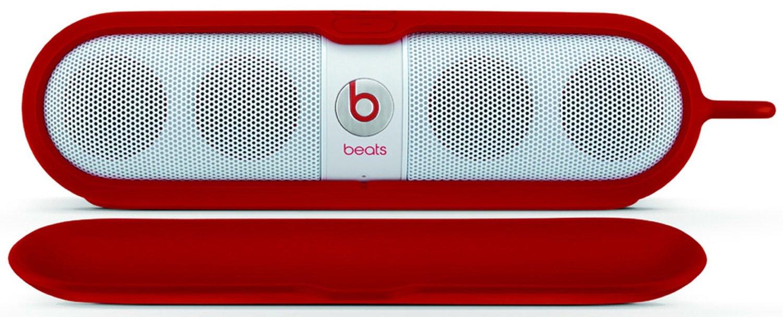 เคสสำหรับใส่ Beats Pill Sleeve ลงตัวด้วยดีไซน์ และการพกพา (RED)