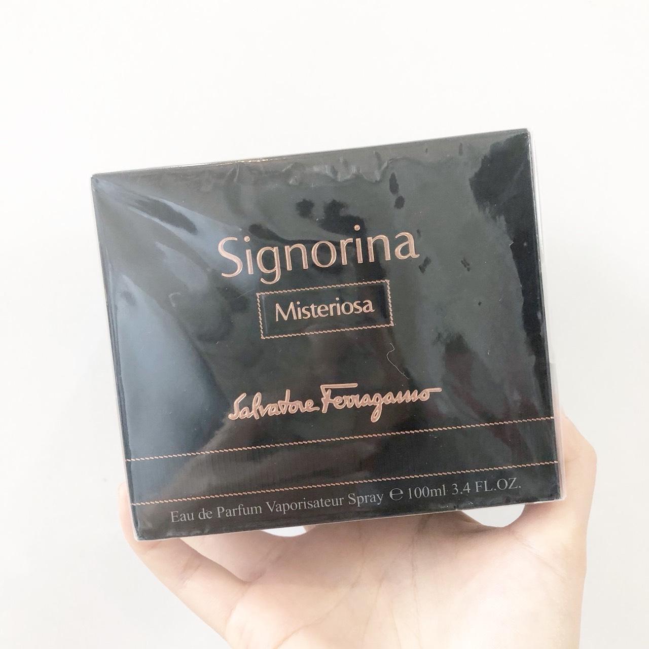 น้ำหอม Salvatore Ferragamo Signorina Misteriosa EDP 100 ml. กล่องซีล