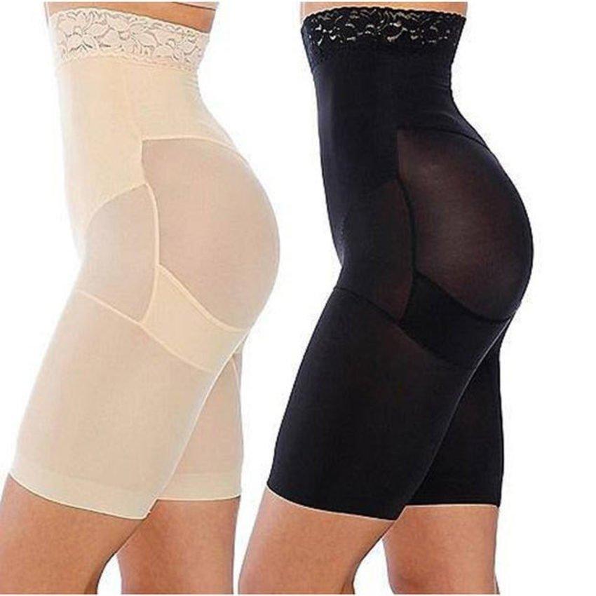Slim n Lift กางเกงเก็บพุง กระชับสัดส่วน - แพ็คคู่ 2 ตัว สีดำ และ สีเบจ อย่างละตัว