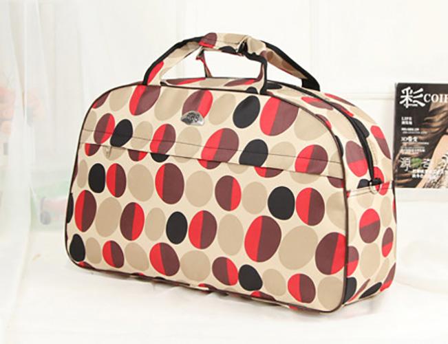 """Value Luggages กระเป๋าเดินทาง 22"""" รุ่นVBL-018 (สีเนื้อลายจุด)"""