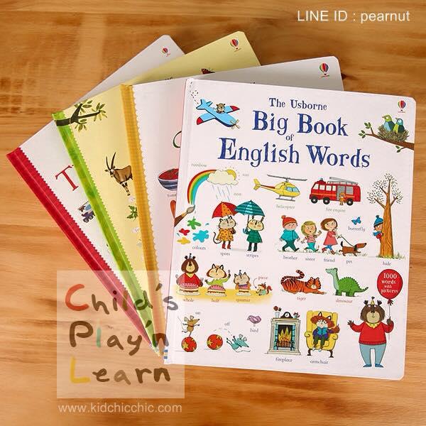 หนังสือ Board Book รวมคำศัพท์ชุดใหญ่สำนักพิมพ์ Usborne (UK)