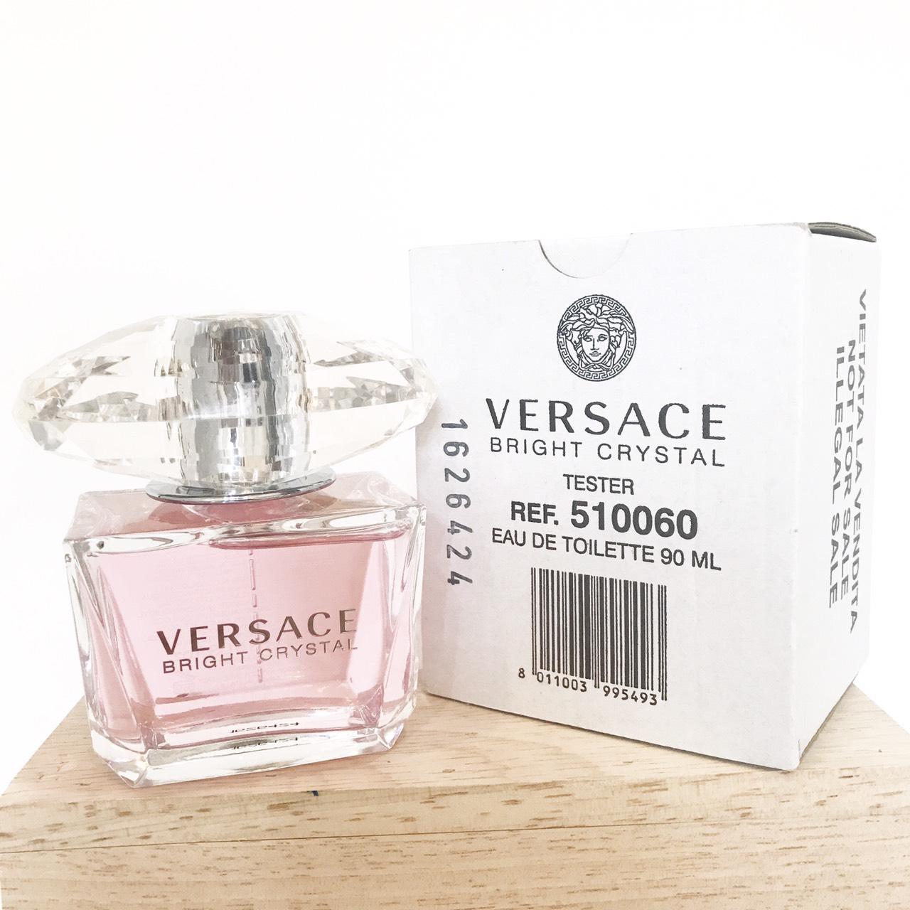 น้ำหอม (กล่องเทสเตอร์) Versace Bright Crystal EDT 90 ml. ของแท้ 100%