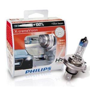 หลอดไฟ Phillip CVSM 4300K H4 60/55W