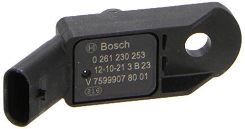เซนเซอร์แรงดัน(เพรสเชอร์) F20, F21 (114i, 116i, 118i) เครื่องN13 / Pressure Sensor, Bosch, 0261230253, V7599907