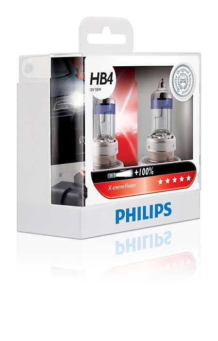 หลอดไฟ Phillip XV HB4 100% 55W