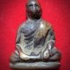 รูปหล่อโบราณรุ่นแรก หลวงพ่อปลั่ง พรมโชโต (เจ้าคุณวิเชียรโมลีฯ) วัดพระบรมธาตุ จ.กำแพงเพชร 2484