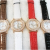 Geneva Quartz watches women นาฬิกาผู้หญิง แบรนด์ของฮ่องกง ระบบควอทด์ กันน้ำ กันสนิม