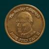 Pope John Paul II Commemorative coin The Sunday Telegraph 1995