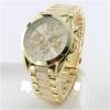 geneva Quartz watches women นาฬิกาผู้หญิง แบรนด์ของฮ่องกง ระบบควอทด์ กันน้ำ กันสนิม สีขาวขุ้น