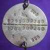 เหรียญประจำตัวทหาร สมัยสงครามโลก หลังตรางจักร